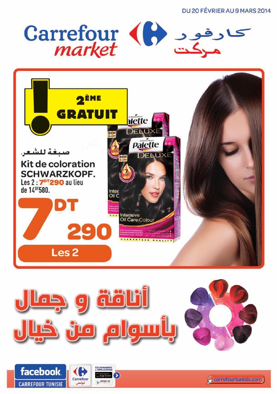Carrefour market couleur cheveux
