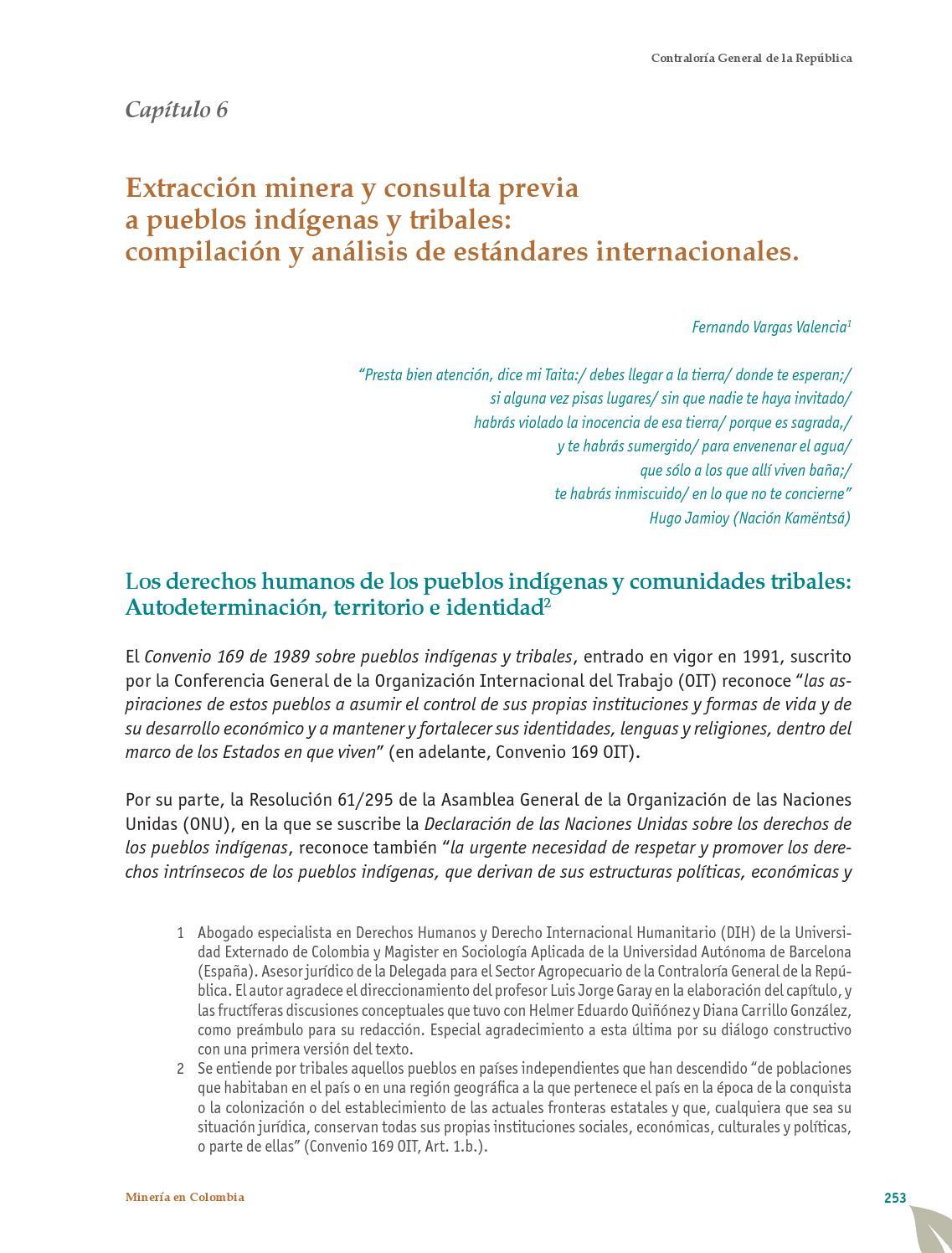 Minería en Colombia: institucionalidad y territorio, paradojas y ...