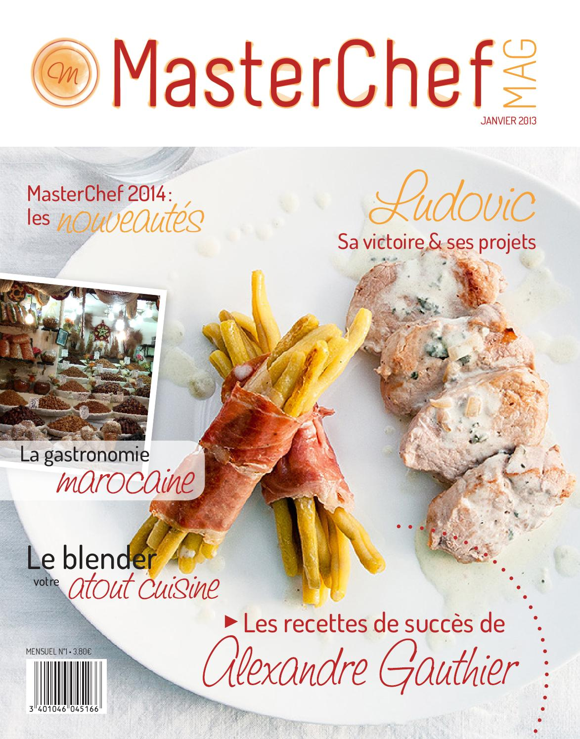 MasterChef concurrents datant
