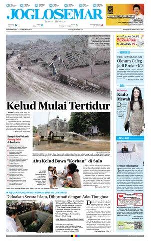 Epaper Edisi 17 Februari 2014 By Pt Joglosemar Prima Media