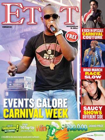 Bazodee issue 2 all roads lead to crop over by bazodee magazine ett vol 8 february issue 2 2014 voltagebd Image collections