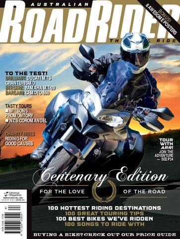 Road RiderMarch Issue#100 By Australian Road Rider Official   Issuu
