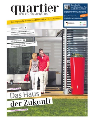 quartier das haus der zukunft by berlin medien gmbh issuu. Black Bedroom Furniture Sets. Home Design Ideas