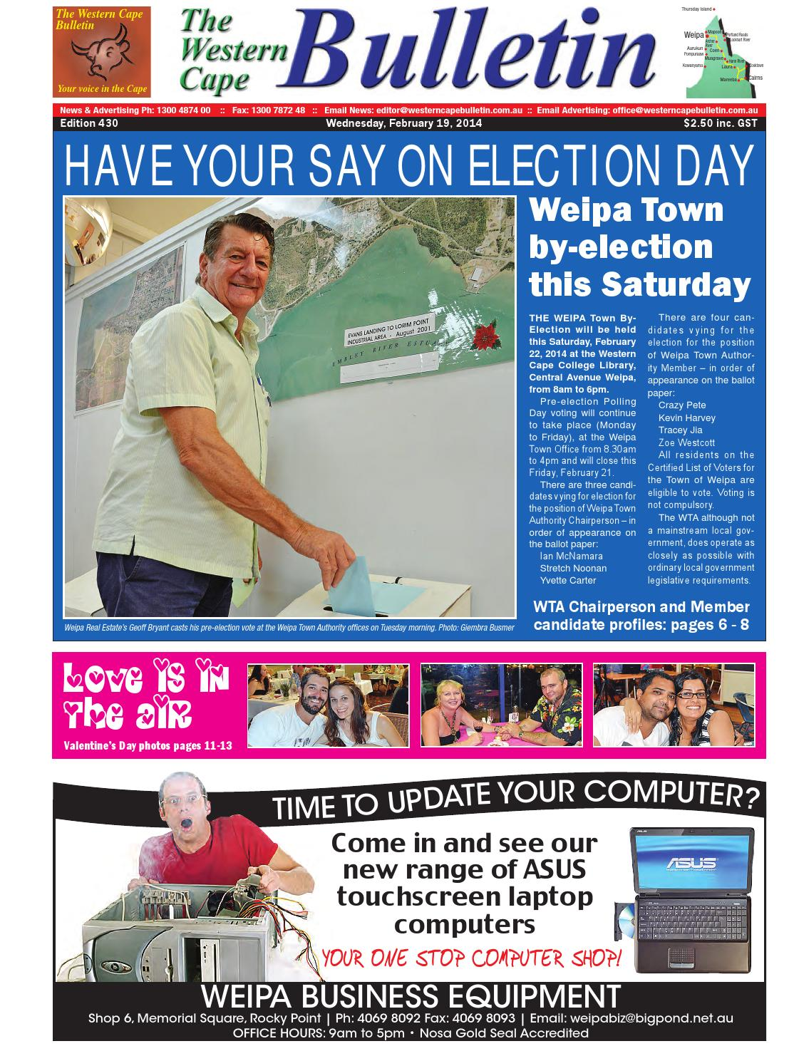 Western cape bulletn 2014 02 19 by Regional and Remote Newspapers ...
