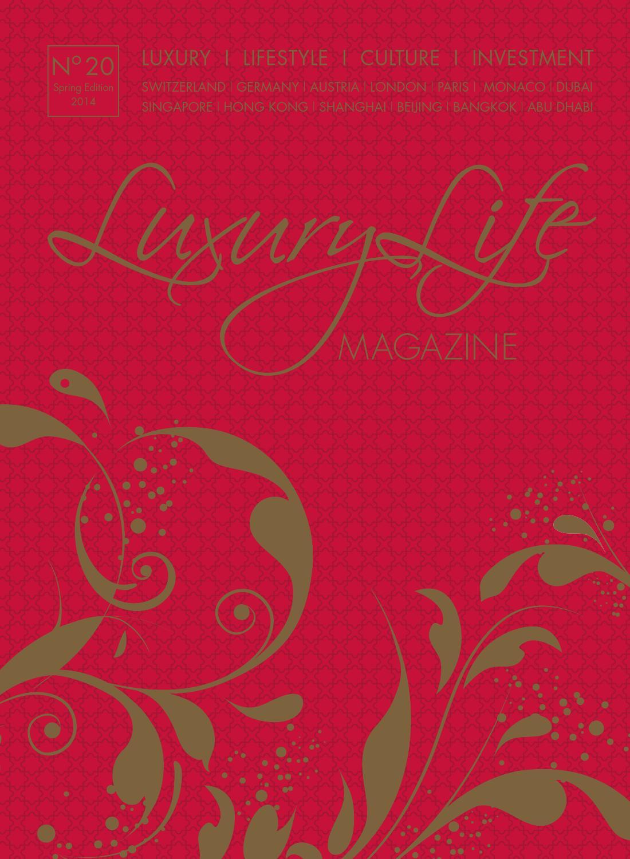 Luxury Life MAGAZINE Spring Edition 2014 by Luxury Life MAGAZINE ...