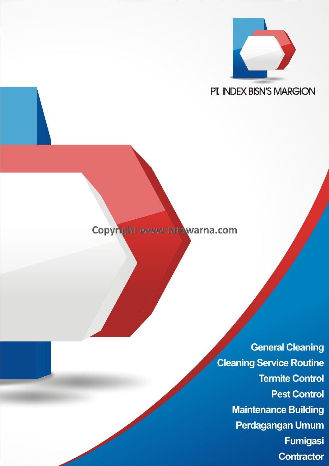 Contoh desain company profile booklet perusahaan bidang for Service design firms