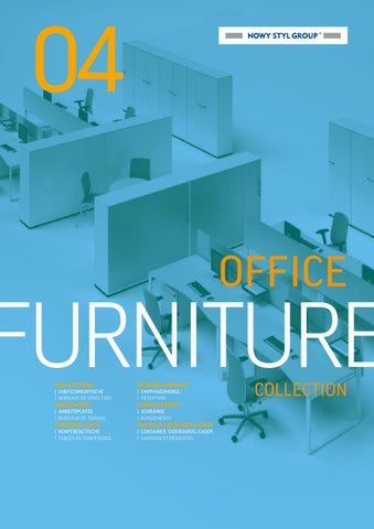 Catalogue bureaux nowy styl collection 2014 by buroconseil - issuu