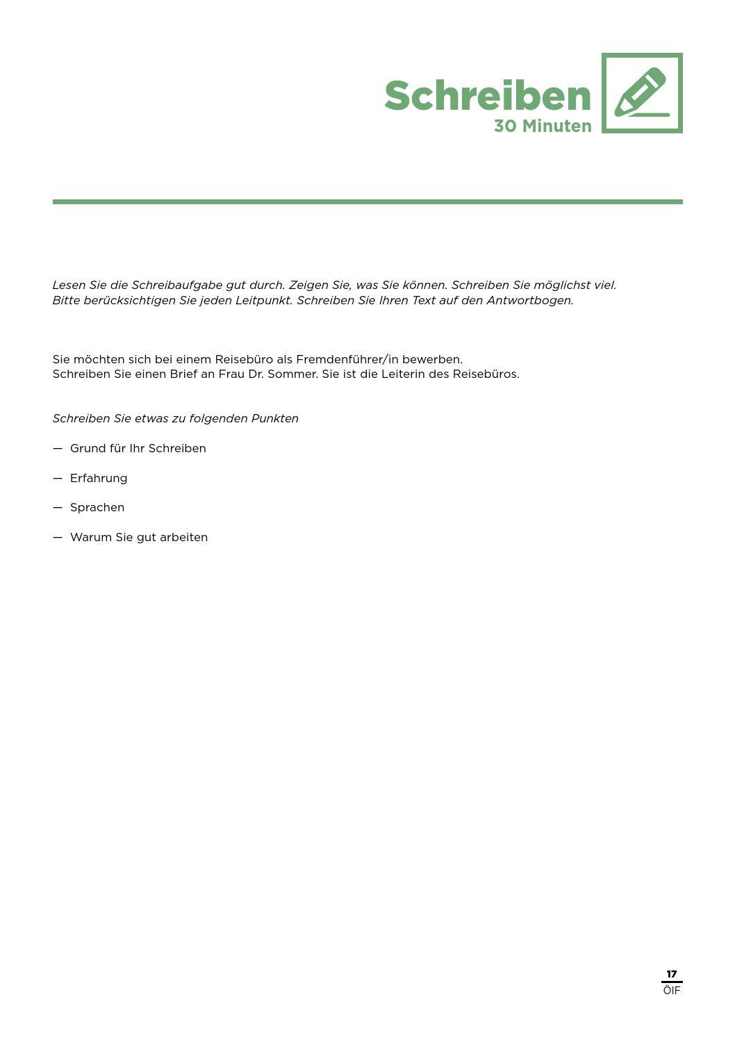 DTOE - Übungstest 3 by Österreichischer Integrationsfonds - issuu