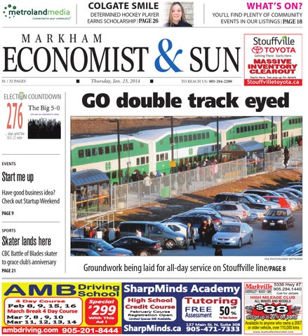 Mkm n jan23 by Markham Economist & Sun - issuu