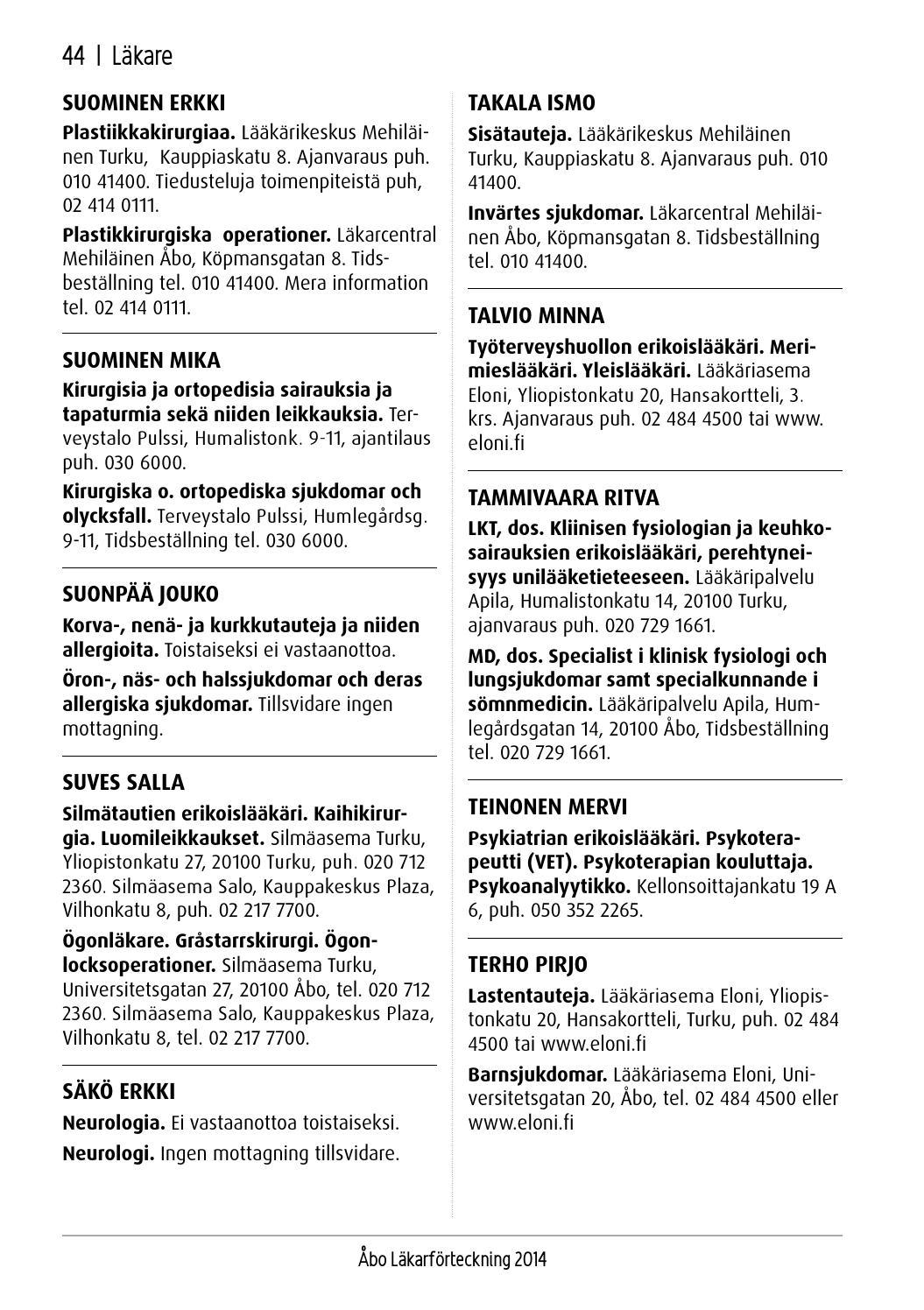 Silmäasema Turku Yliopistonkatu