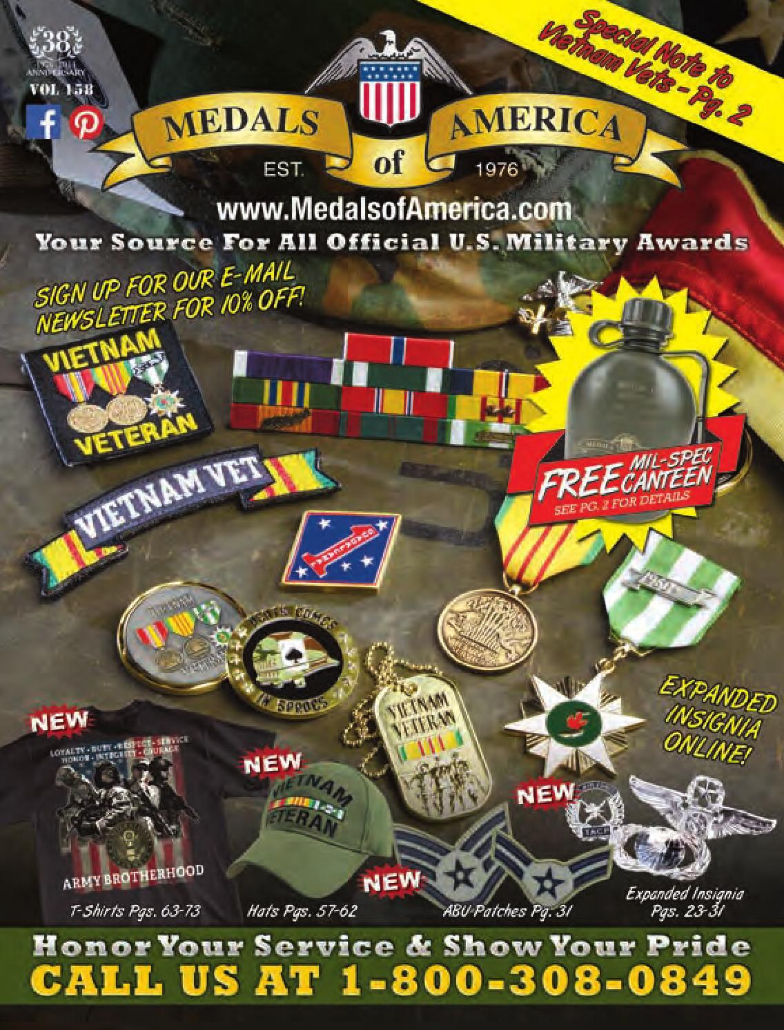 Medals of America Spring Catalog by Kirk Stotzer - issuu