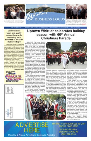 Business Focus - January 2017 by Whittier Chamber - issuu