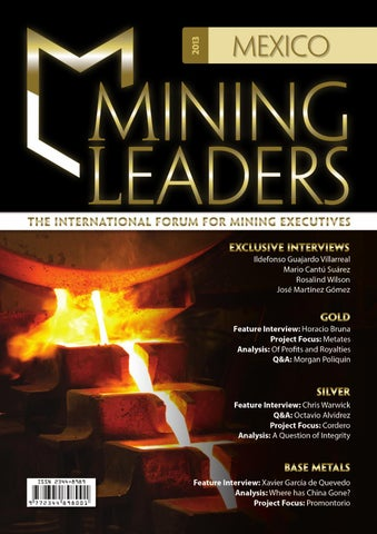 Mining Leaders Mexico 2013 By Miguel Camacho Issuu