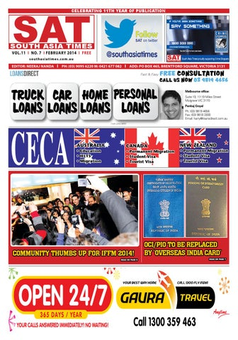 Sat february issue 2014 by South Asia Times - issuu