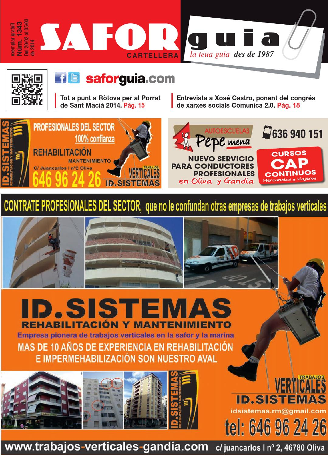 Publicaci N Del 20 De Febrero Al 5 De Marzo De 2014 By Saforguia  # Muebles Peiro Quart De Poblet