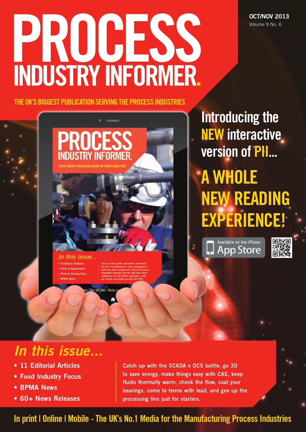 Process Industry Informer Magazine Oct/Nov 2013 Edition by Process ...