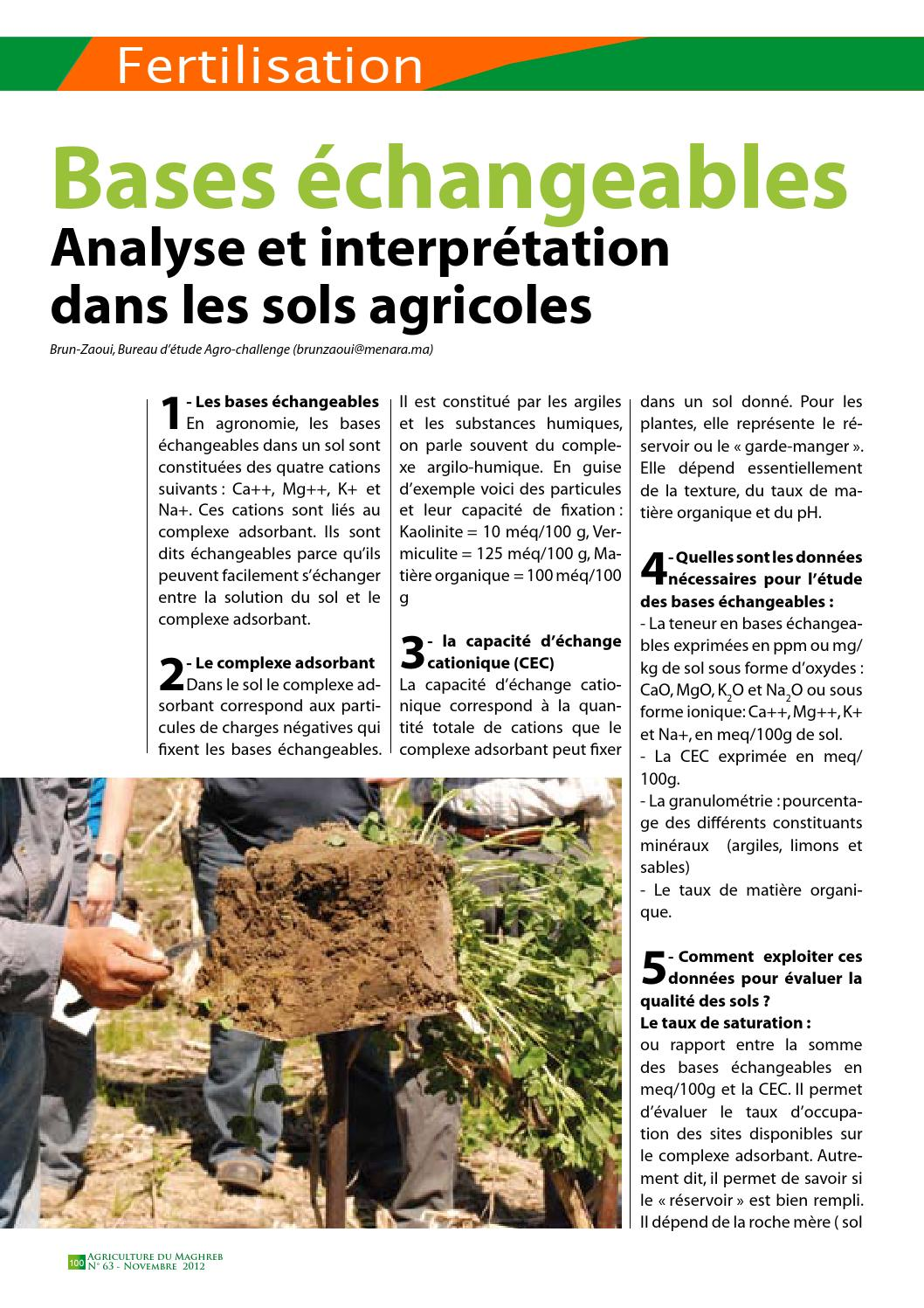 Agriculture du maghreb n°9 by AGRICULTURE du MAGHREB - issuu