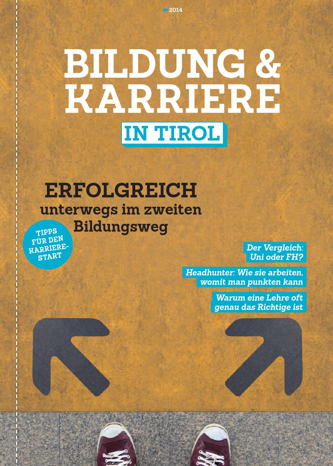 Bildung & Karriere in Tirol (März 2014) by TARGET GROUP Publishing ...