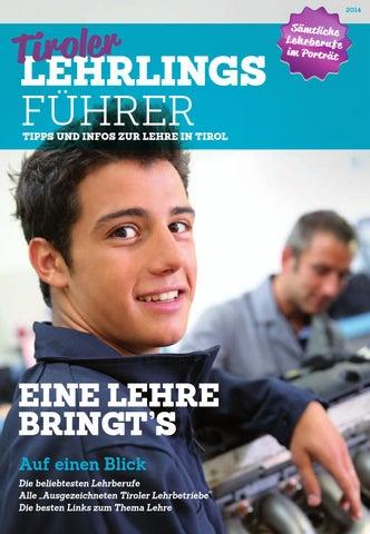 Tiroler Lehrlingsführer (März 2014) by TARGET GROUP Publishing GmbH ...