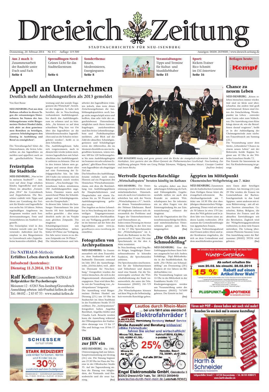 Dz online 008 14 c by Dreieich-Zeitung/Offenbach-Journal - issuu