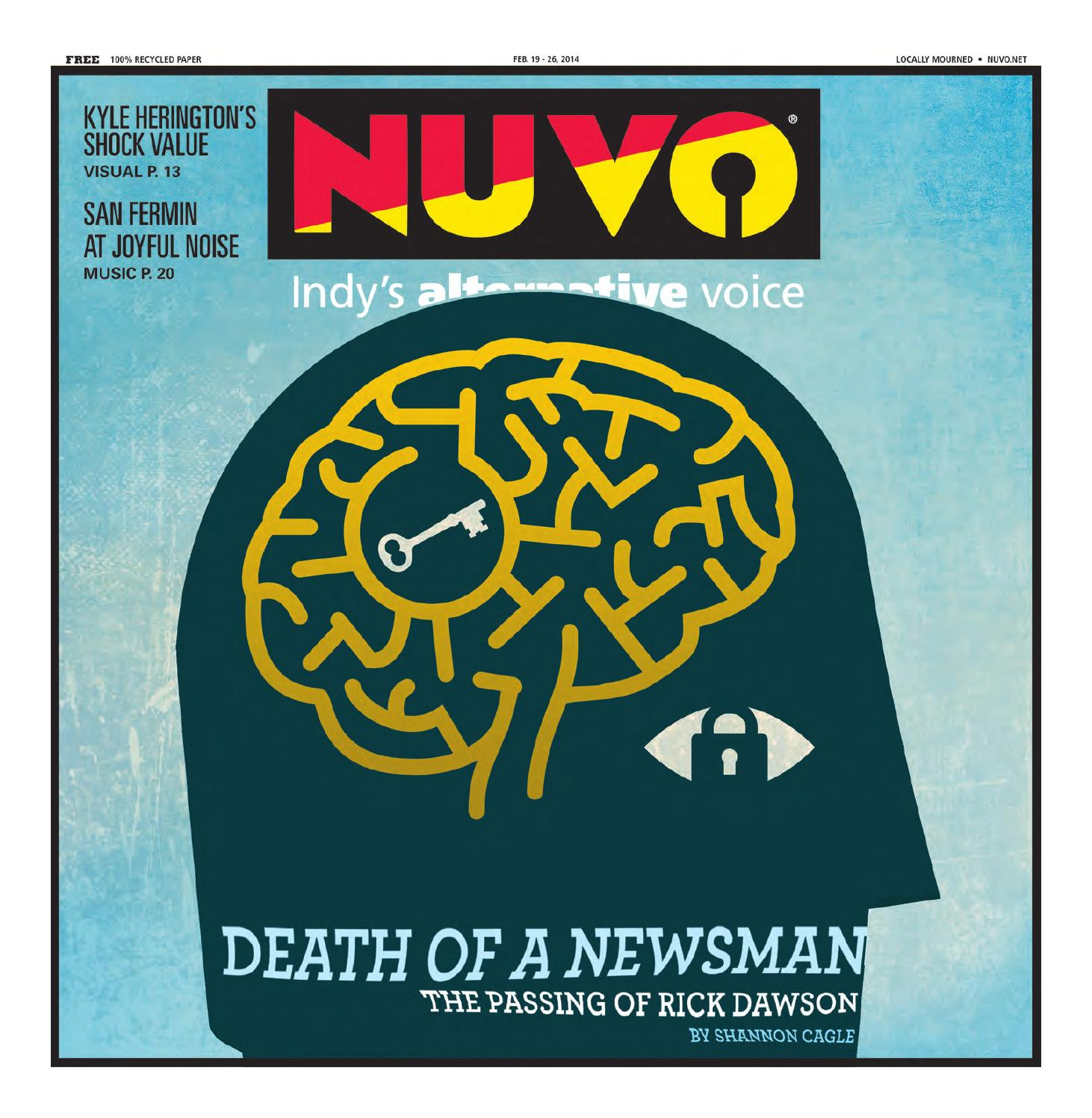 Nuvo Indy 39 S Alternative Voice February 19 2014 By Nuvo