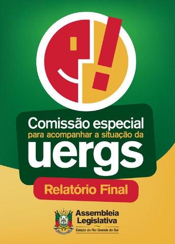 Relatório da Comissão da UERGS - AL RS by Catarina Paladini - issuu 568f33fcb63d6