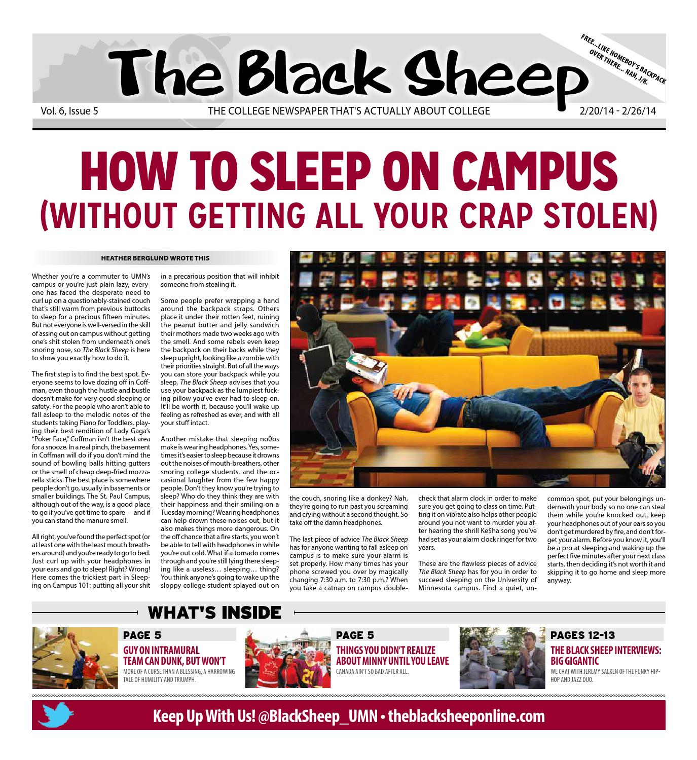 Minnesota - Issue 5 - 2/20/2014 by The Black Sheep - issuu