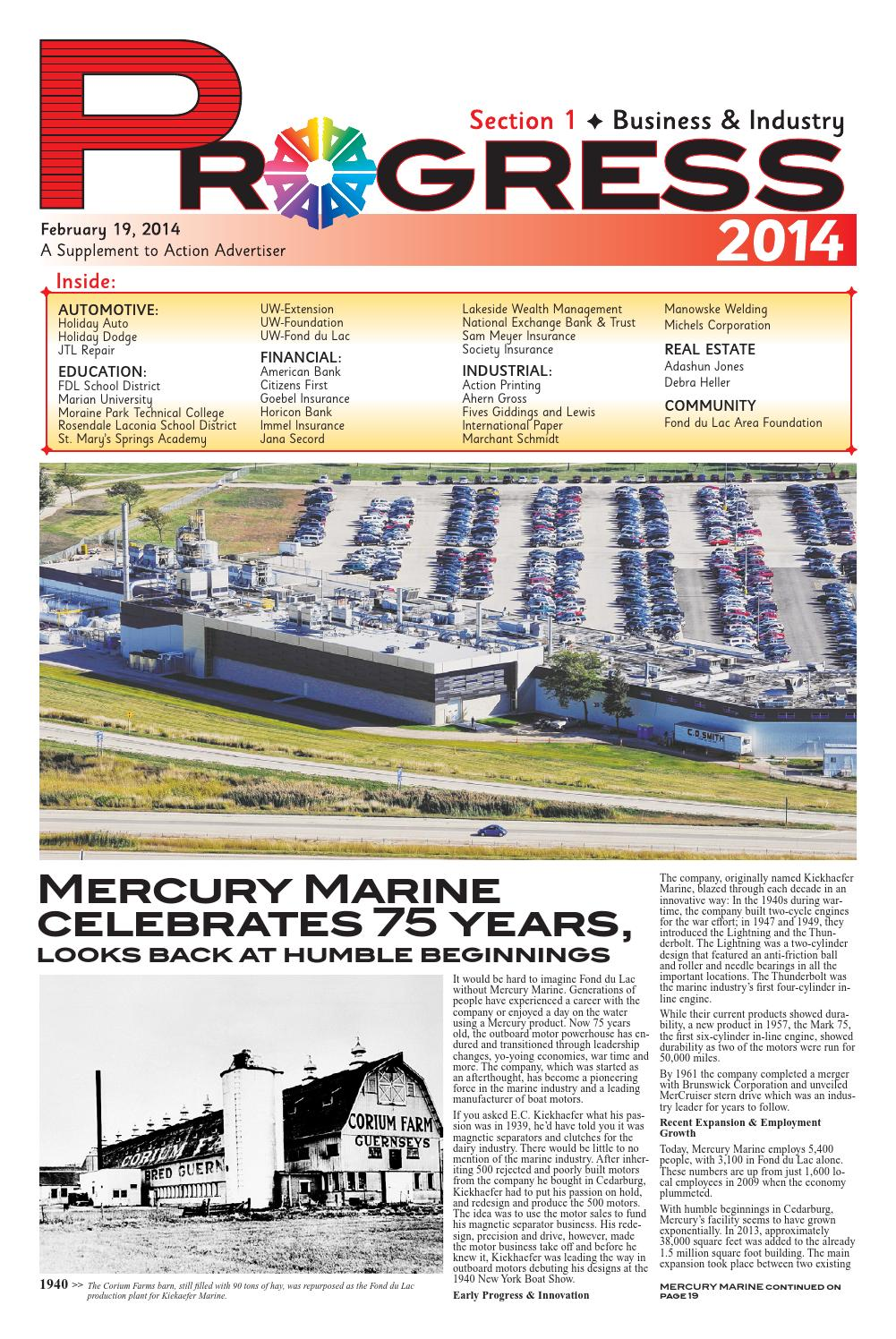Fond Du Lac 2014 Progress By Gannett Wisconsin Media Issuu
