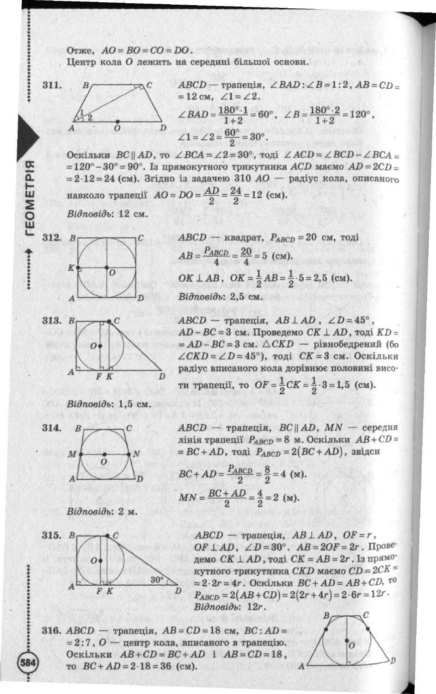 З геометрії бевз гдз