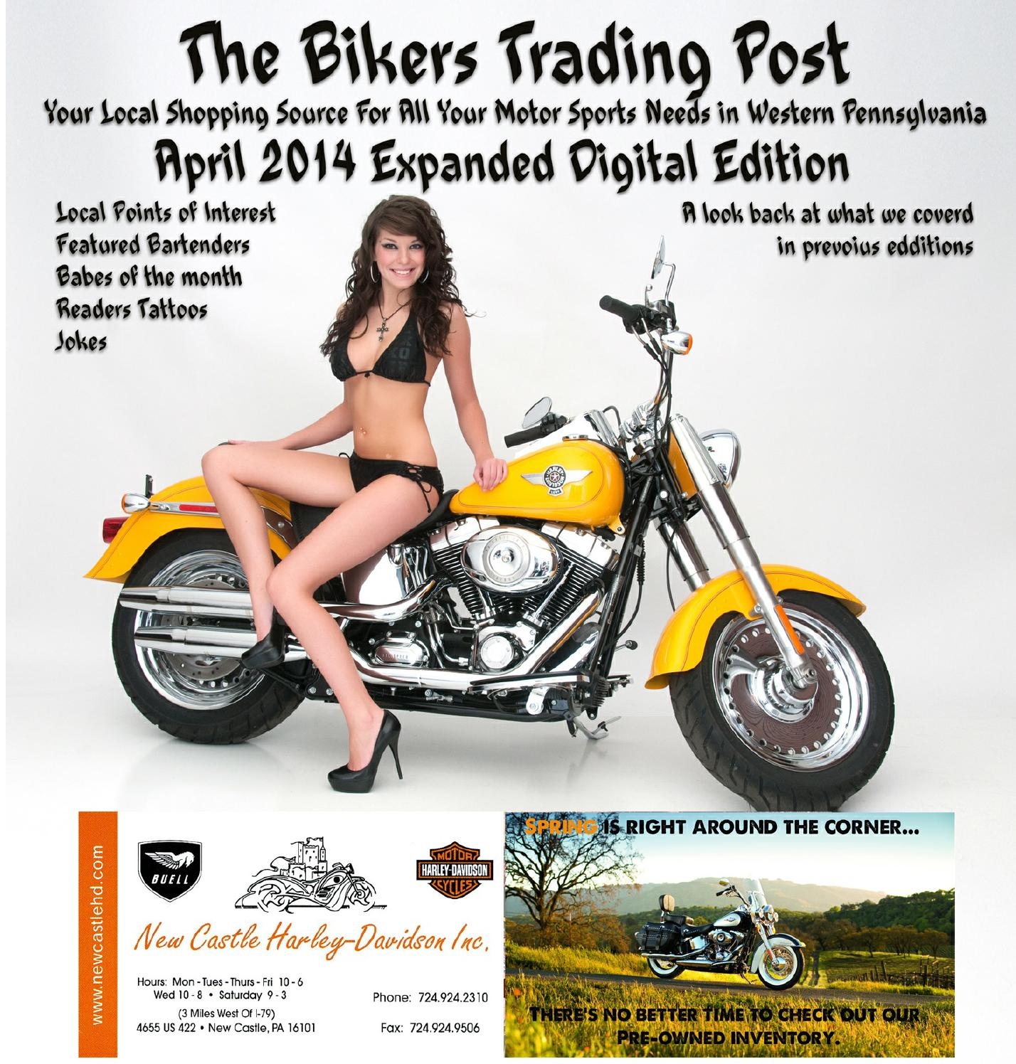 The bikers trading post digital past by The Bikers Trading