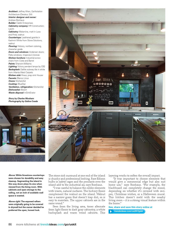 Kitchen Trends Usa Vol 29 12 By Trendsideas Com Issuu