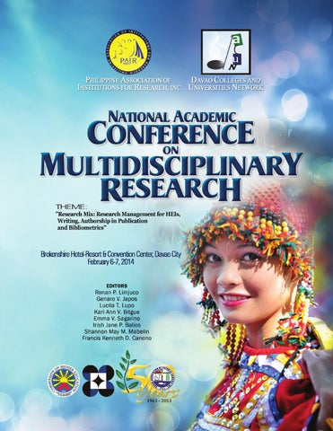 National Academic Conference On Multidisciplinary Research by PAIR