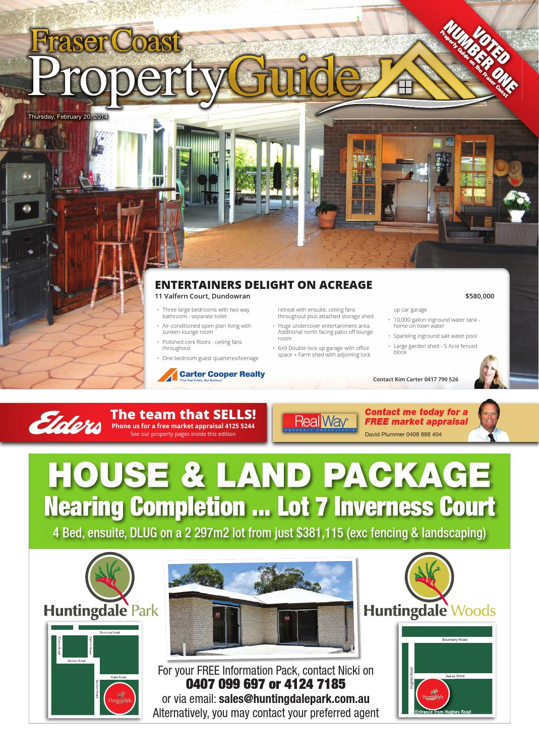 Fraser Coast Property Guide 20 February 2014 By Hervey Bay Independent