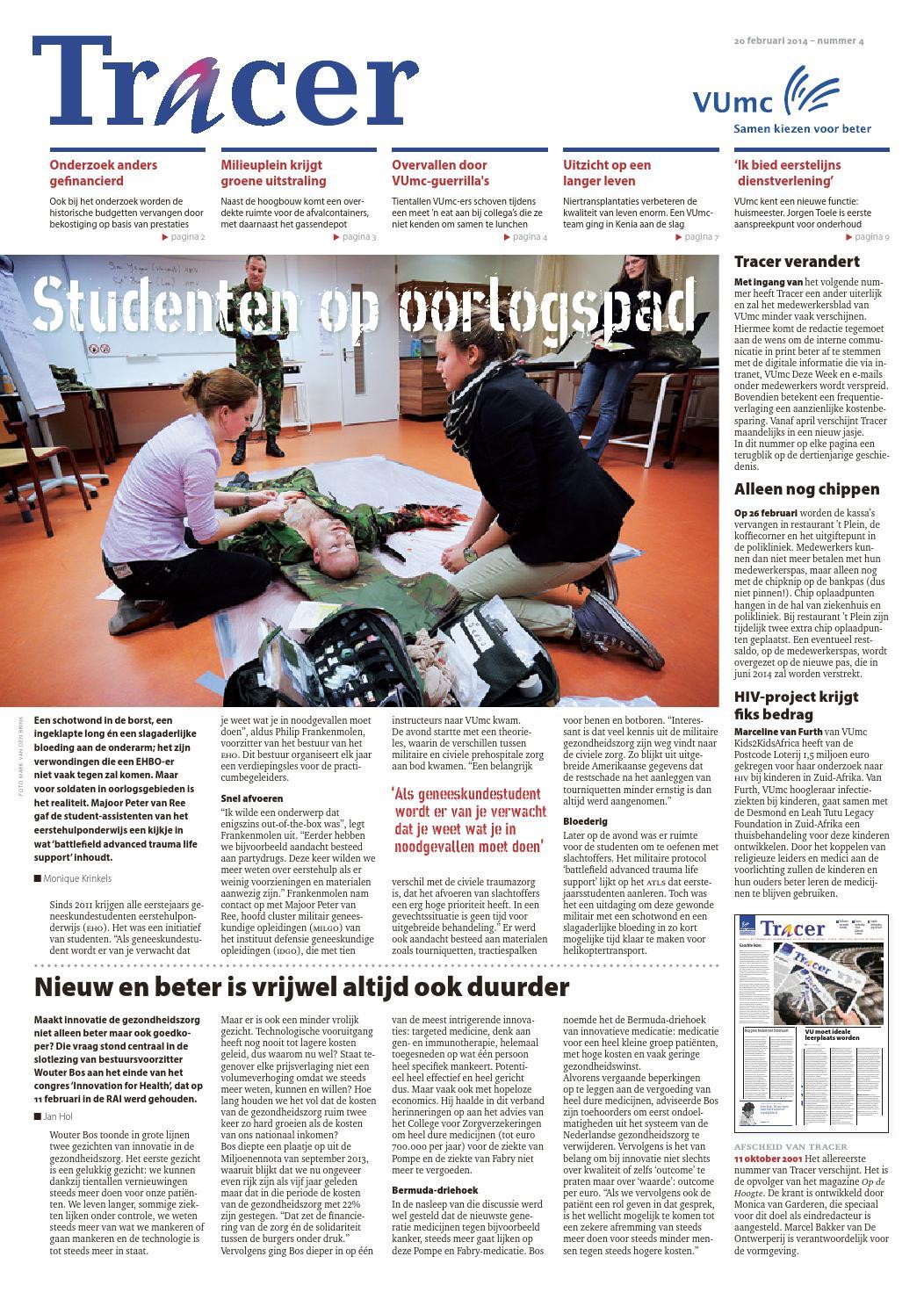 4860cb0ea26 Tracer 4, 2014 by VUmc / VU University Medical Center Amsterdam - issuu