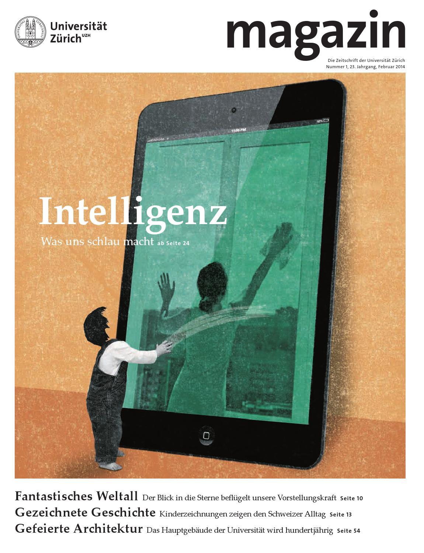 UZH Magazin 1/14 by University of Zurich - issuu