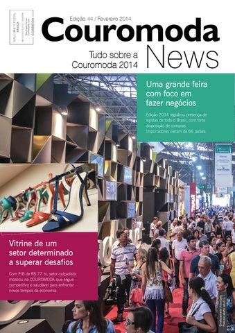 3f201ee45 REVISTA COUROMODA NEWS - Edição 44 by Sao Paulo Feiras Comerciais ...