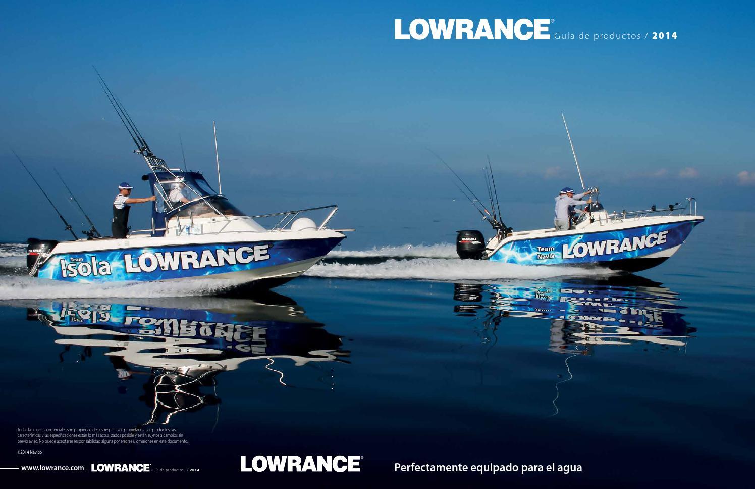 Lowrance 000-0106-72 HST-wsbl 83//200 kHz transductor de popa Monte