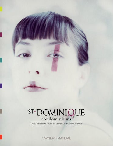 St-Dominique Owners Manual by DevMcGill - issuu