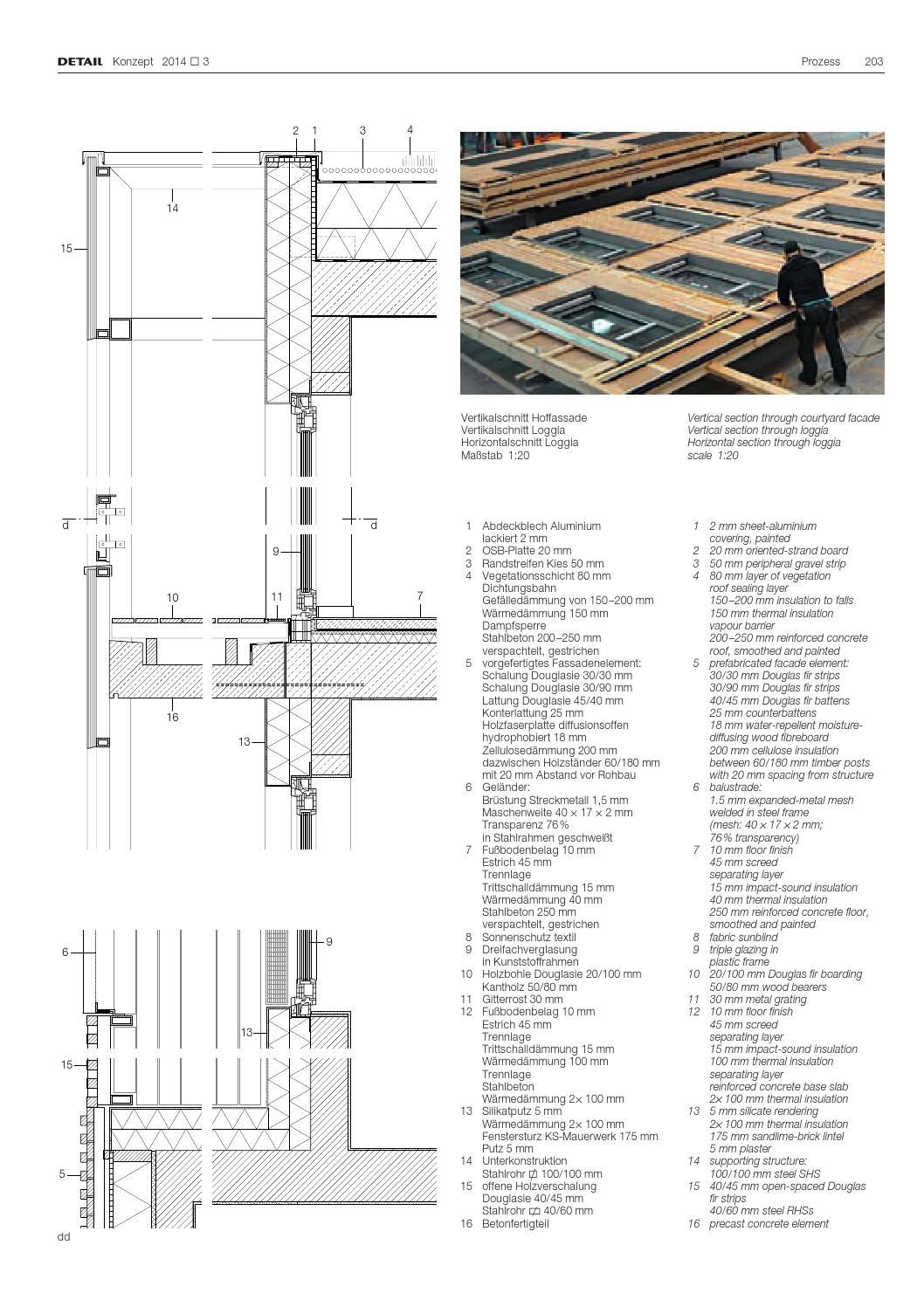 Erstaunlich DETAIL 03/2014 Konzept Verdichtet wohnen · Higher-Density Housing  QG78