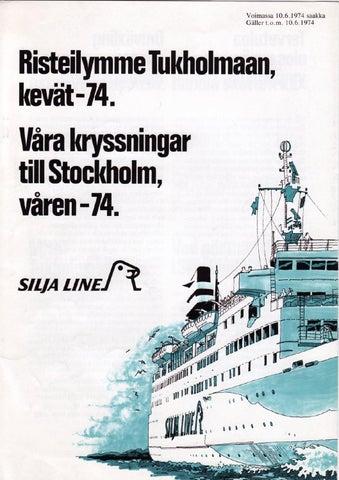 Laivat Tukholmaan