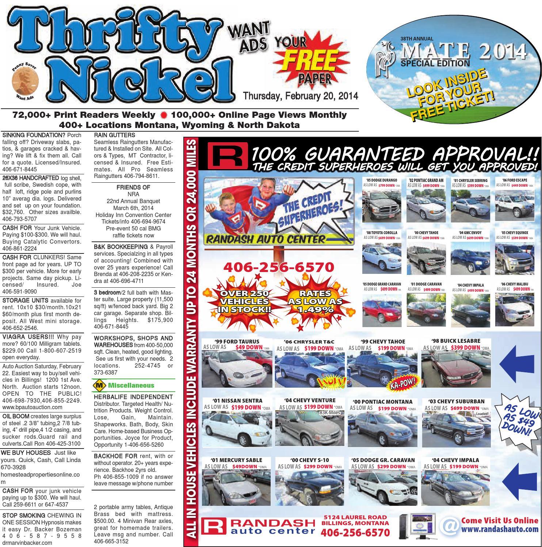 Thrifty Nickel Feb 20 by Billings Gazette issuu