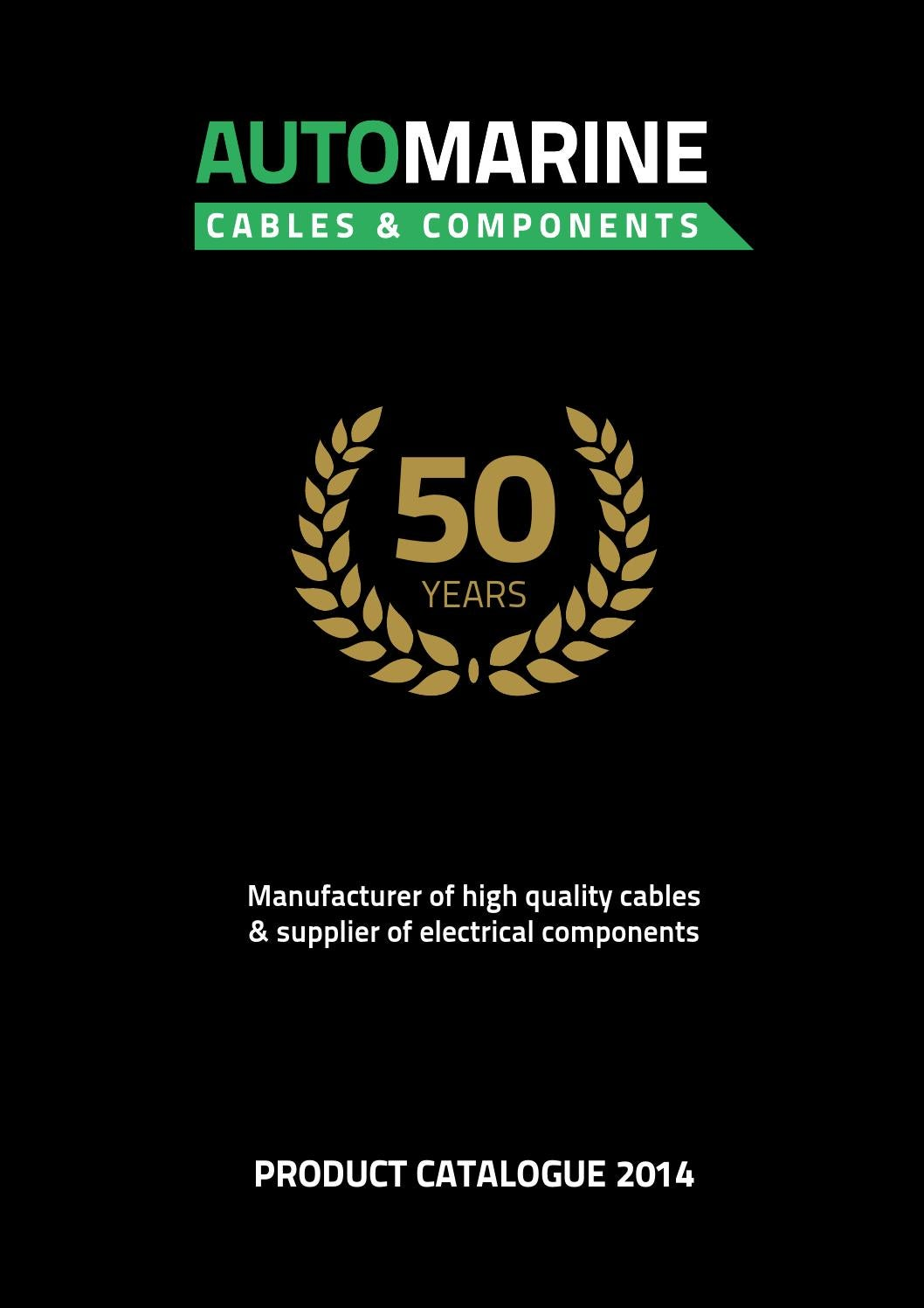 Auto Marine Cables Components By Issuu Mta Relay Fuse Box