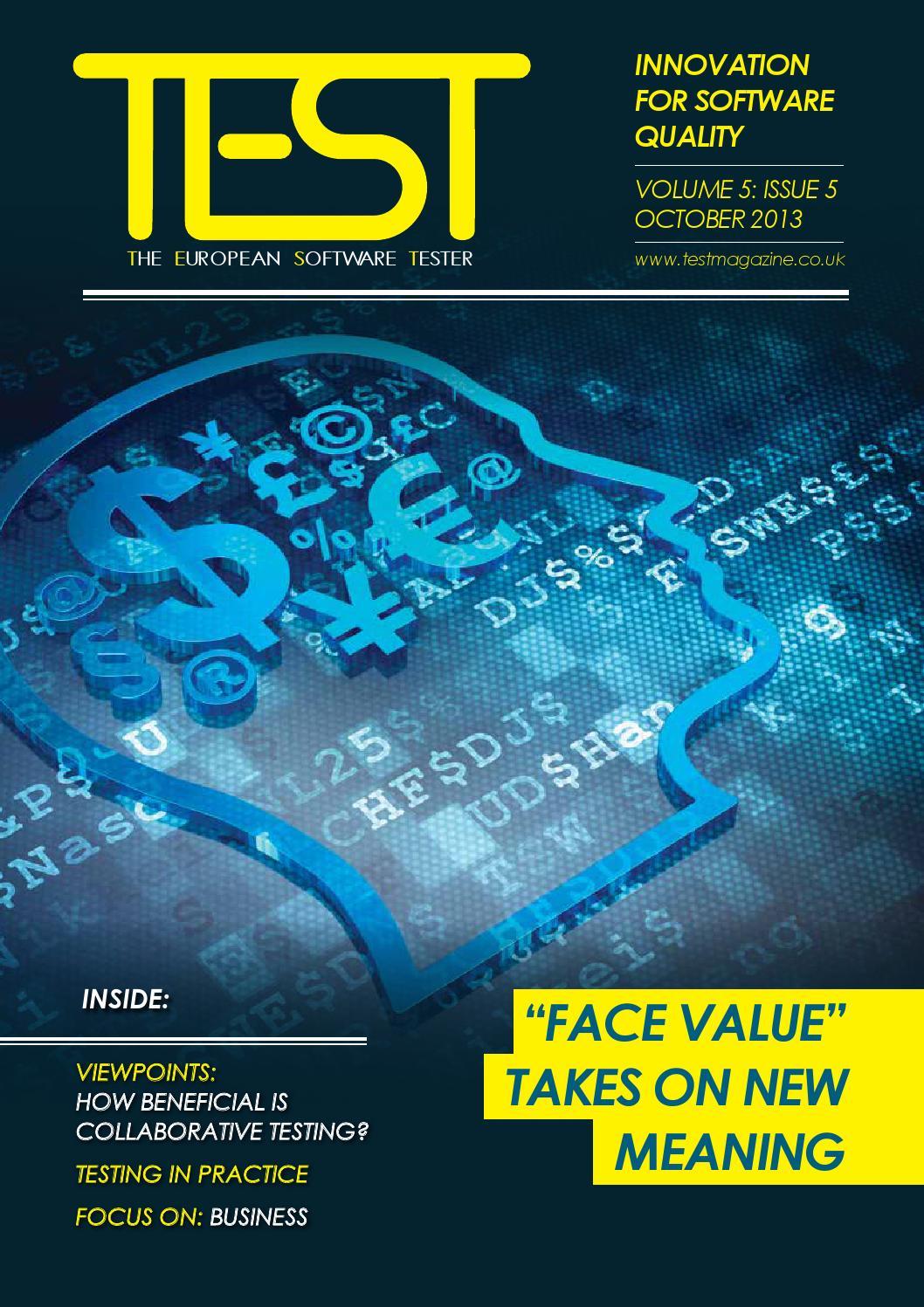 TEST Magazine - October-November 2013