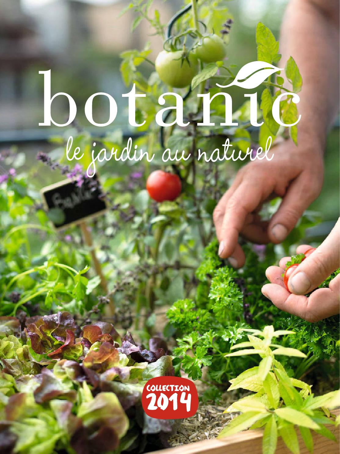 Potager 3 Etages Botanic catalogue botanic - le jardin au naturel collection 2014