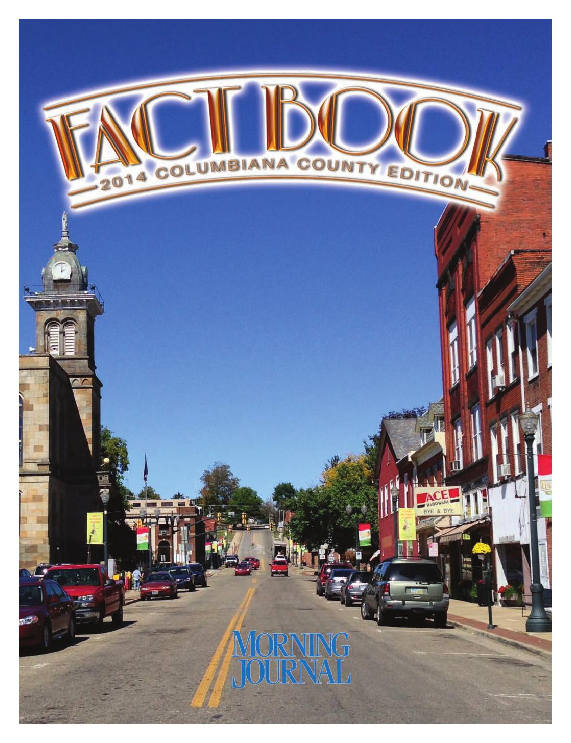 Ohio columbiana county rogers - Morning Journal Columbiana County Fact Book 2014 By Morning Journal Issuu
