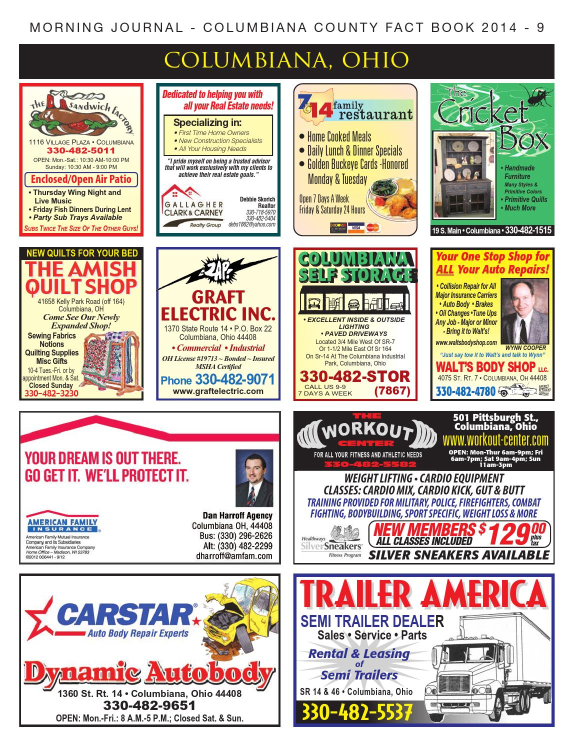 Morning Journal - Columbiana County Fact Book 2014 by