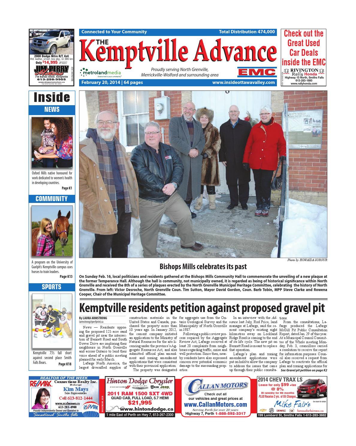 1d4300922a Kemptville022014 by Metroland East - Kemptville Advance - issuu