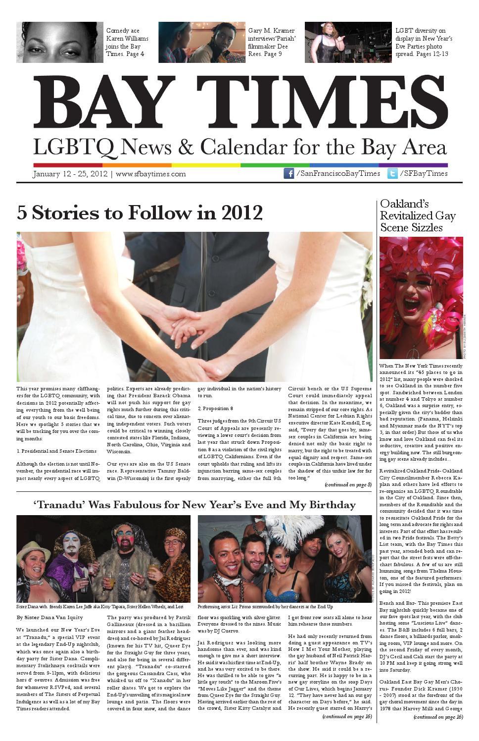 2012 01 12 by San Francisco Bay Times - issuu 77a63579f16
