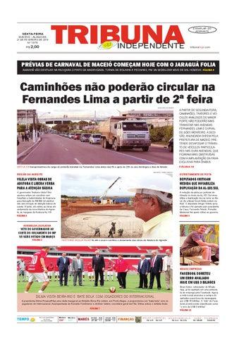 Edição número 1978 - 21 de fevereiro de 2014 by Tribuna Hoje - issuu cb2763739aa39