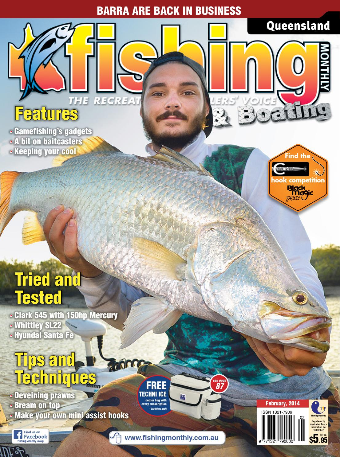 Queensland Fishing Monthly - February 2014 by Fishing